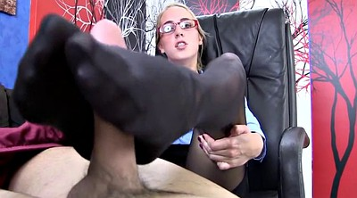 Foot fetish, Black pantyhose, Therapy