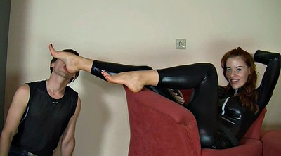 Polish, Foot mistress, Femdom feet, Latex mistress, Latex foot