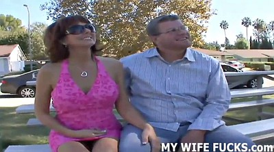 Man, Wife watch, Watching, Fuck wife, Watches, Real wife