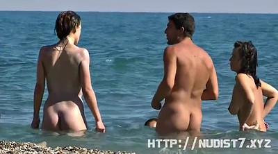Beach, Nudist