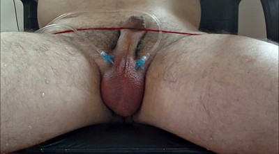 Needle, Pain, Painful, Big balls, Gay bdsm, Needling