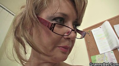 Old young, Seduces, White mature, Young mature, White stockings, Seduce mature