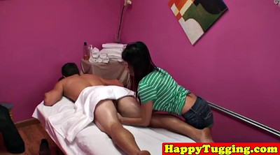 Massage, Asian massage, Asian cumshot, Tugging