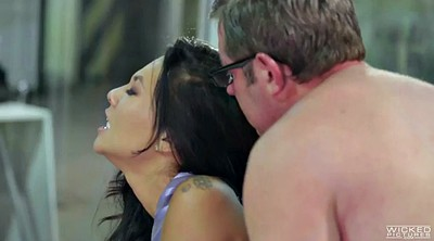 Asa akira, Boss, Asian blowjob