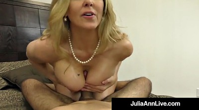 Julia ann, Julia, Mature feet, Foot pov, Anne