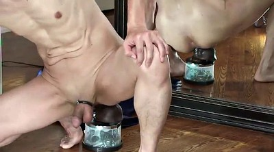 Insertion, Riding dildo, Gay sex