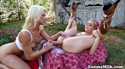 Enema, Pee outdoor, Enemas