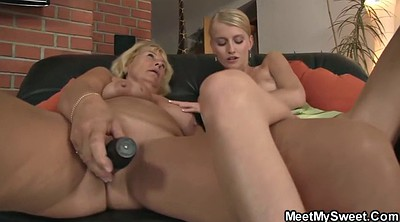 Mom sex, Granny threesome