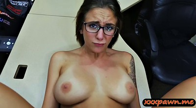 Glasses, Amateur busty