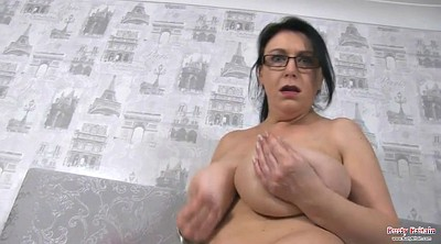 Big boobs, British mature