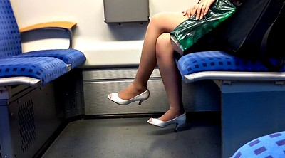 Footing, Peep, Train, Training, Nylon heels