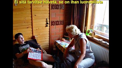 Russian mom, Russian mature, Old mom, Caption