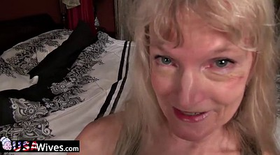 Mature solo, Hairy masturbation, Granny solo