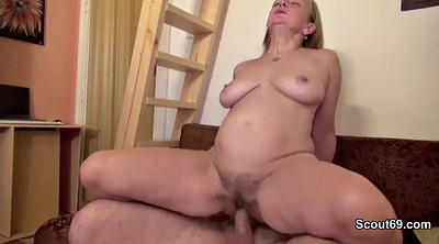 First time anal, Mature mom, Anal mom, Mom orgasm, German granny, Anal granny
