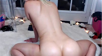 Shaking ass, Skinny webcam