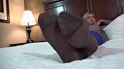 Nylon foot, Pantyhose foot, Chyna