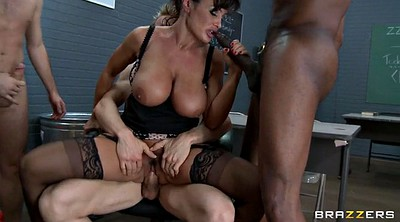 Lisa ann, Prison, Ann, Three, Prisoner, Interracial hairy