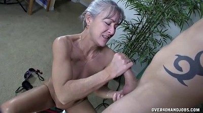 Handjob, Machine, Big cock mature