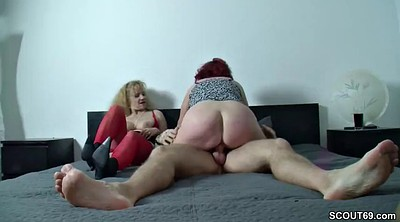 Aunt, Teen old man, Fuck mom