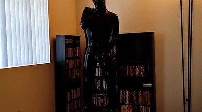 Library, Gay bdsm, Solo nylons, Solo dress, Gay fetish, Dress solo