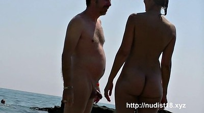 Naked beach, Naked, Nudist