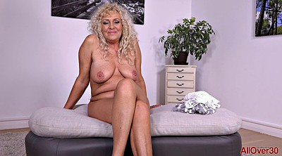 Chubby mature, Blonde chubby, Big tits solo