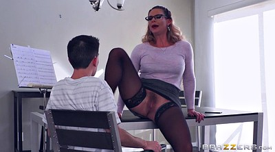 Phoenix marie, Marie, Sex teacher, Hairy blonde, Lick pussy, Clothed sex