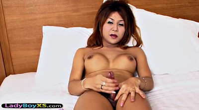 Stripped, Shemale dildo, Ladyboy solo, Asian ladyboy, Amateur dildo