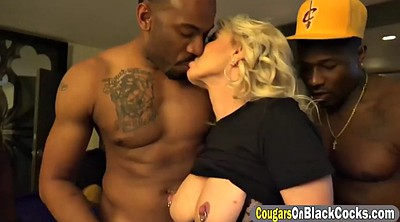 Double, Huge anal, Anal interracial