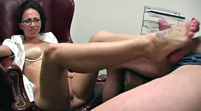 Office footjob, Pantyhose footjob, Pantyhose feet, Pantyhose cum, Cum feet, Cum pantyhose