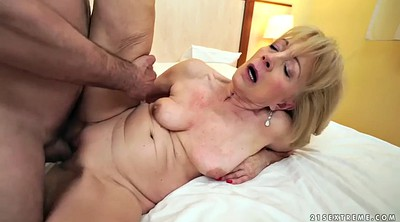 Short hair, Young chubby, Missionary mature, Granny missionary