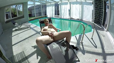 Pool, Bbw milf, Big nipple
