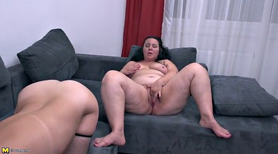 Family, Mature granny, Lesbian mom, Bbw mom, Bbw lesbian