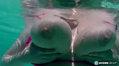 Chubby solo, Swimming, Swim, Solo bbw, Swimming pool, Chubby masturbate