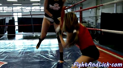 Wrestling, Fight, Scissors, Lesbian wrestling