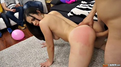 With a girl, Latina doggy fucking brunette, Big girl