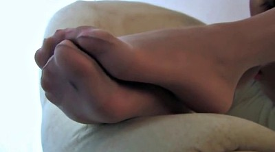 Pantyhose, Pantyhose foot, Pantyhose fetish, White pantyhose