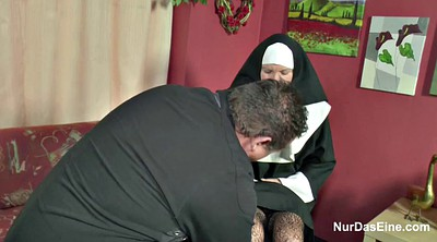 Nuns, German milf, The nun, Church, Bbw german