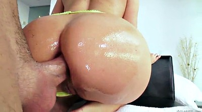 Pussy close up, Oiled ass, Cowgirl
