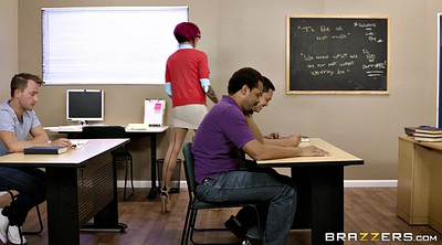 Classroom, Students, Anna bell, Teacher big tits, Bell