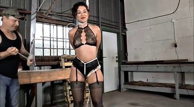 Tied, Master, Rope, Horny girl