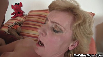Mom, Mom help, Mature granny, Old mom, Helping mom, Hot wife
