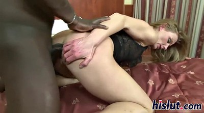 Rough anal, Mature interracial anal