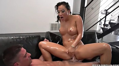Japanese massage, Big cock, Akira, Asa akira
