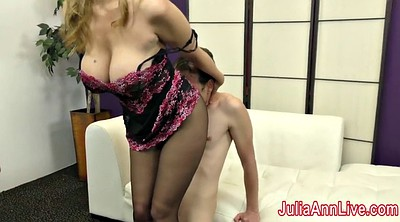 Julia ann, Julia, Foot slave, Anne