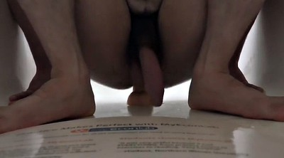 Gay dildo, Real orgasm, Hard gay