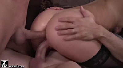 Riding, Russia, Neighbors, Anal threesome