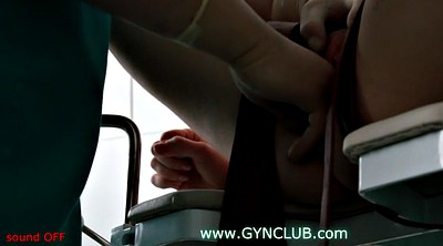 Gloves, Glove, Chair, Voyeur doctor, Gynecology