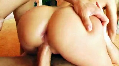 Anal creampie, Rough anal