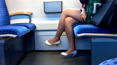 Nylon foot, Toes, Leggings, Legs, Train